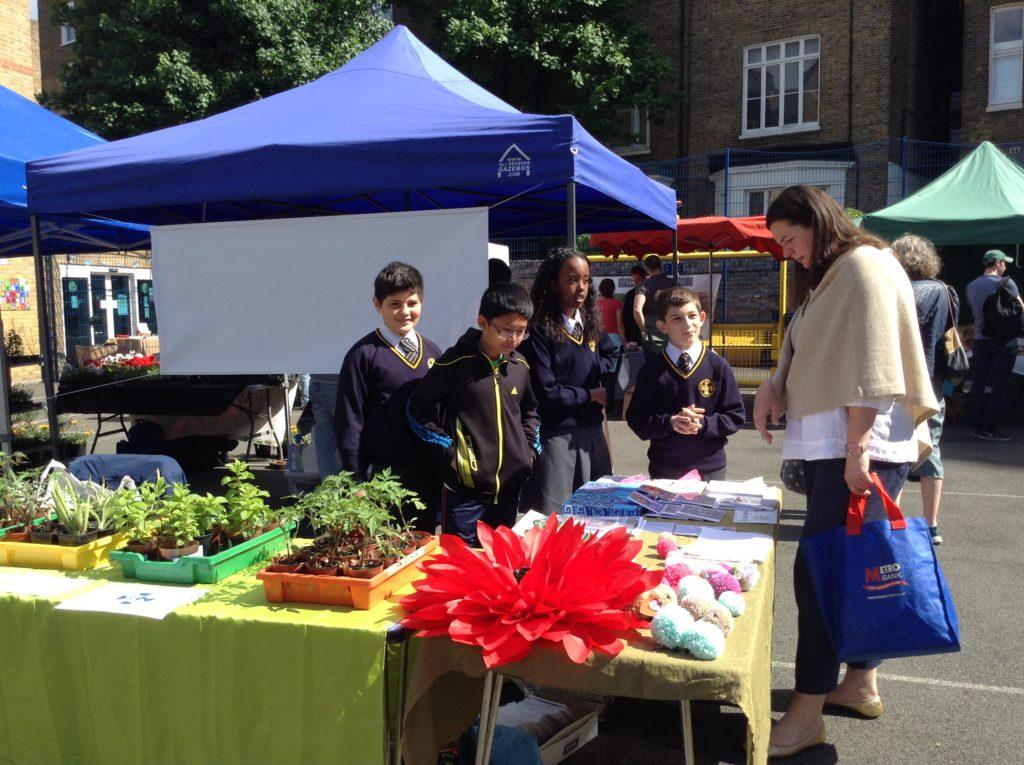 Sunday Market in School Celebrates First Birthday
